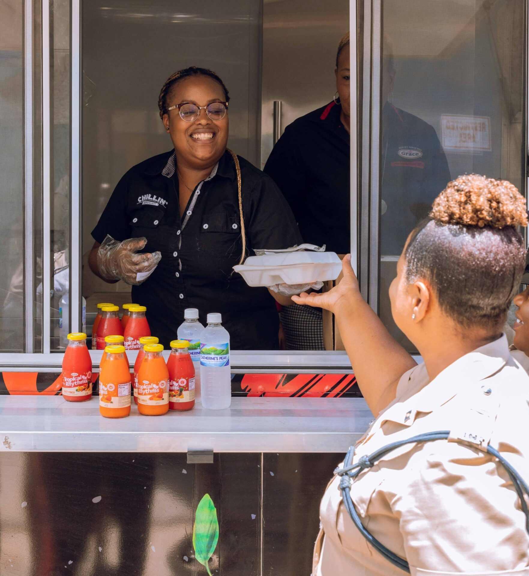 Good Food Served With A Gracious Smile