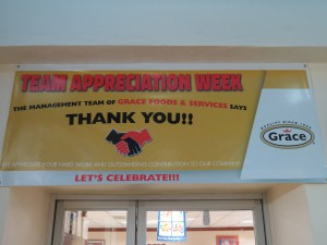 Day 2 of the Employee Appreciation Week of Activities