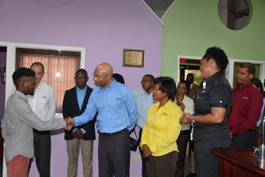The Governor-General of Jamaica visits GK